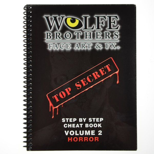 Wolfe Brothers Face Art & FX vol.2 Horror