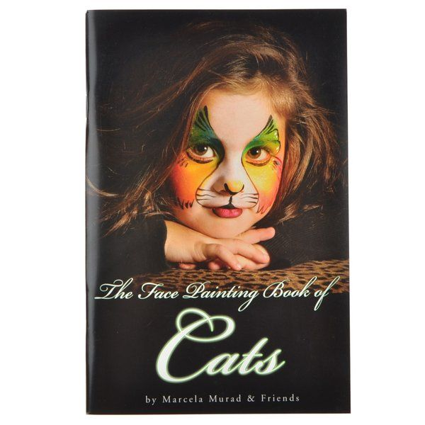 Mama Clown's Face Painting Book of Cats