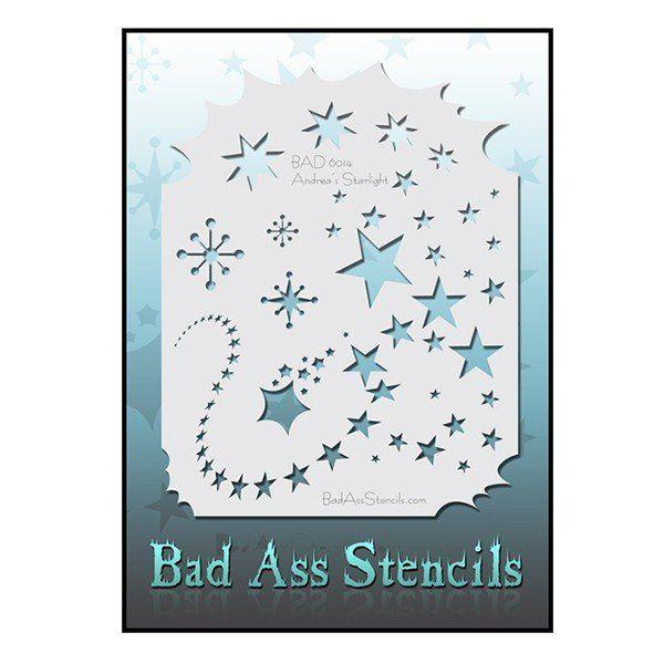 Bad Ass Stencil Has 6014 Starlight
