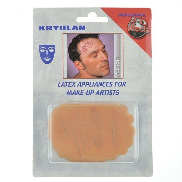 Kryolan latex scratch mark