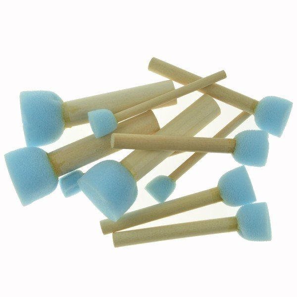 Sponge Stippler 10 piece