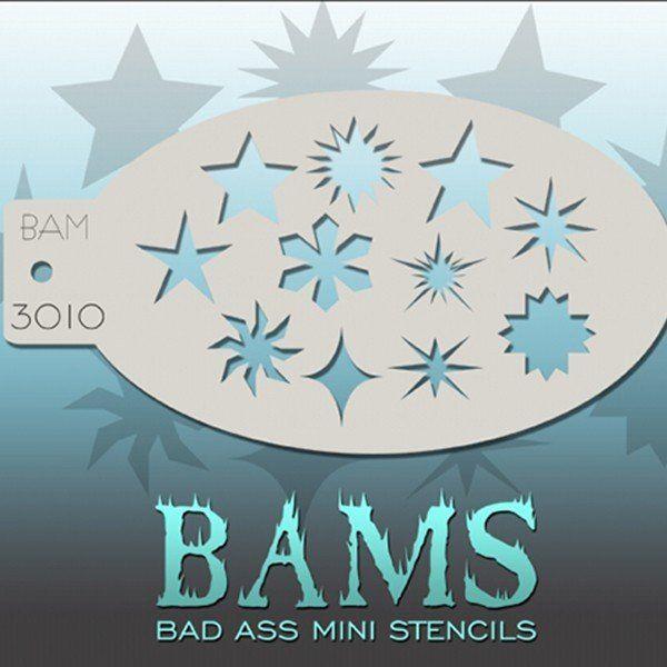Bad Ass Bams Schmink Sjabloon 3010