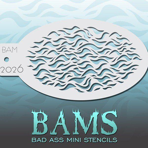 Bad Ass Bams FacePaint Stencil 2026