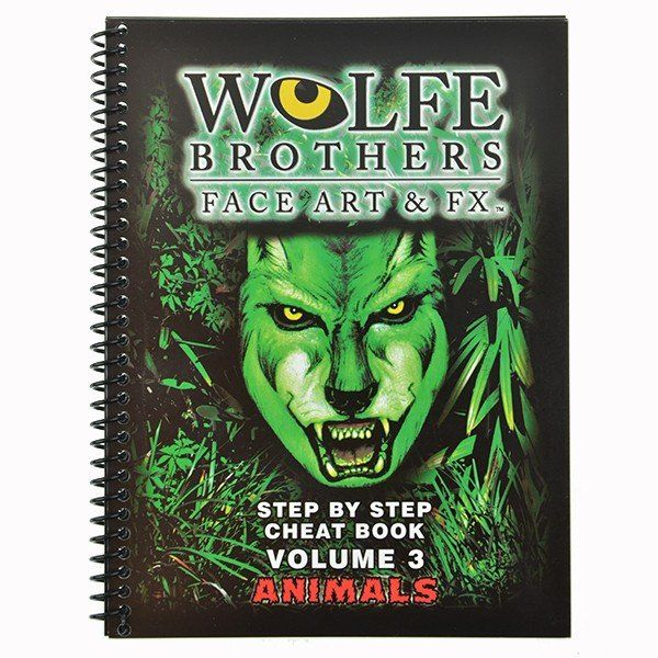 Wolfe Brothers Face Art & FX vol.3 Animals