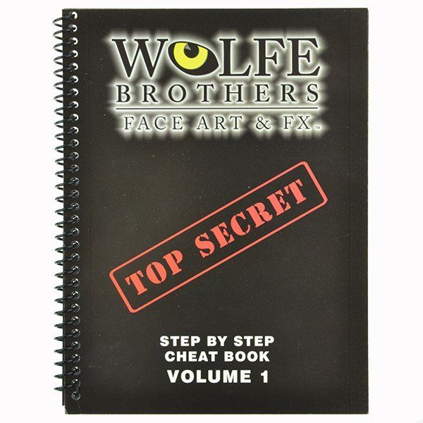 Wolfe Brothers Face Art & FX vol.1 cheat book