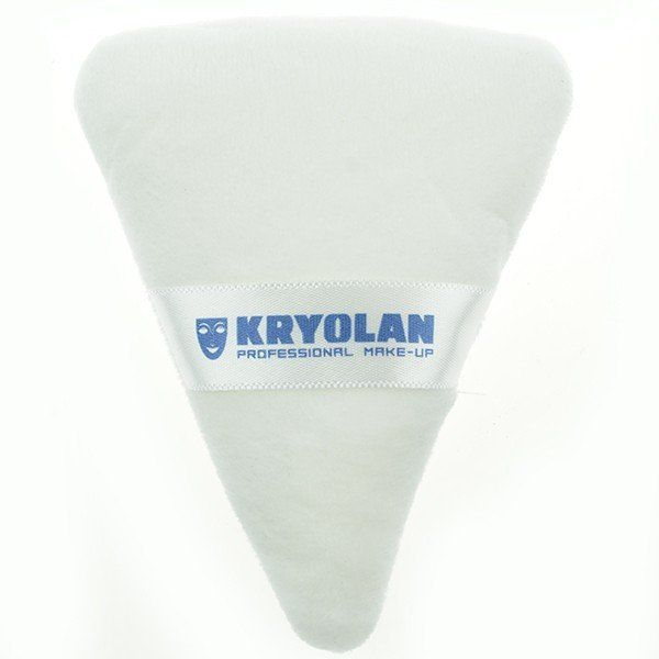 Kryolan Triangular Powder Puff Big