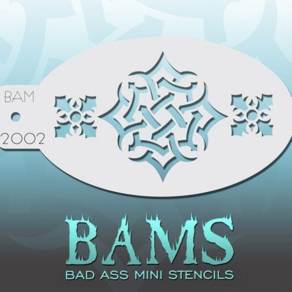 Bad Ass Bams Schmink Sjabloon 2002