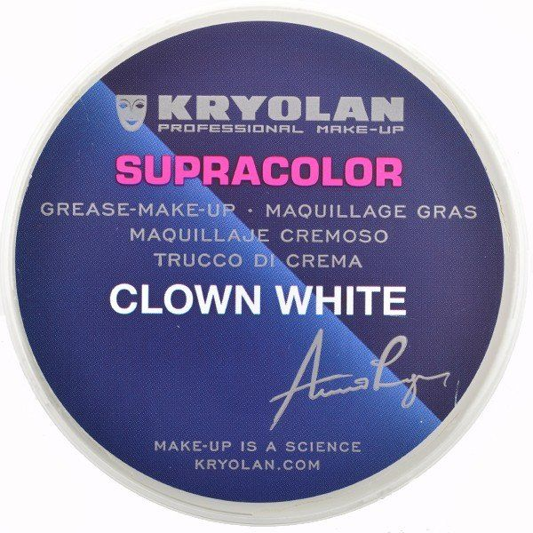 Kryolan Supracolor Clown White 80gr