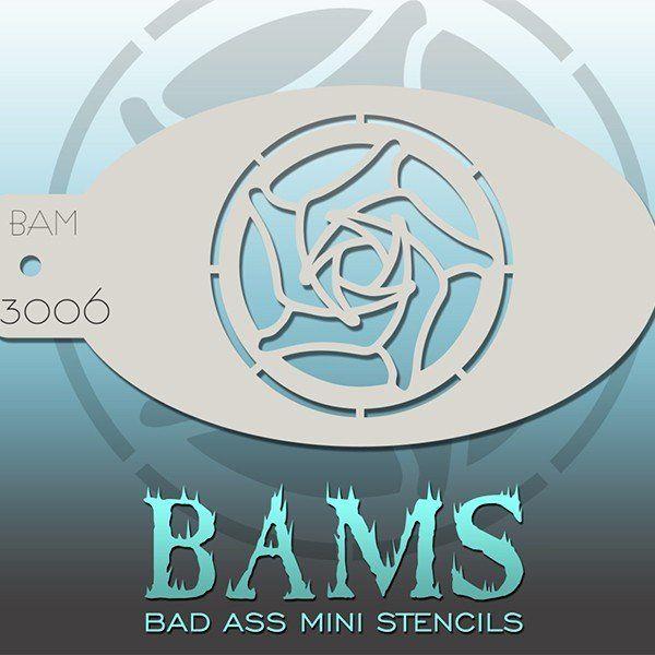 Bad Ass Bams Schmink Sjabloon 3006