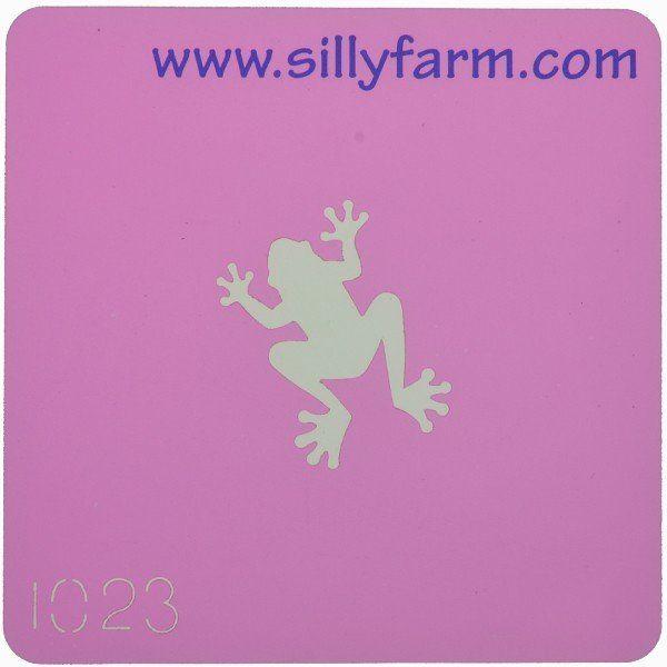 Schminksjabloon Sillyfarm Kinkr