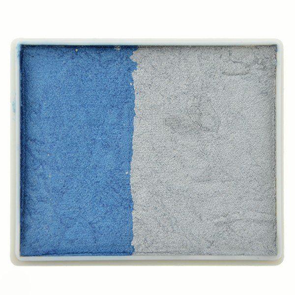 Tag Splitcake Pearl Blue / Pearl Silver (metallic)