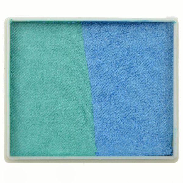 Tag Splitcake Pearl Teal / Pearl Sky Blue (metallic)