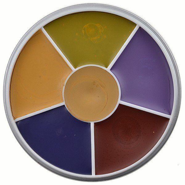 Kryolan Rainbow Circle Vetschmink Bruise