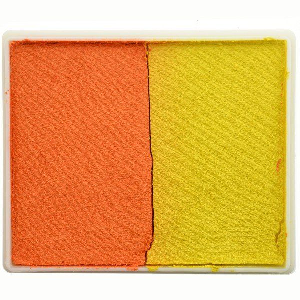 Tag Splitcake Pearl Orange / Pearl Yellow (metallic)