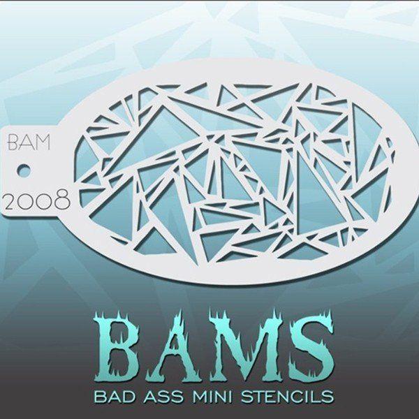 Bad Ass Bams Schmink Sjabloon 2008