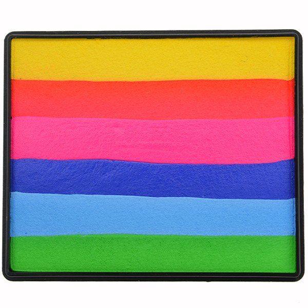Sillyfarm Tropical Paradise Rainbow Cake