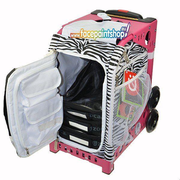 Zuca Sport Artist Zebra/Pink