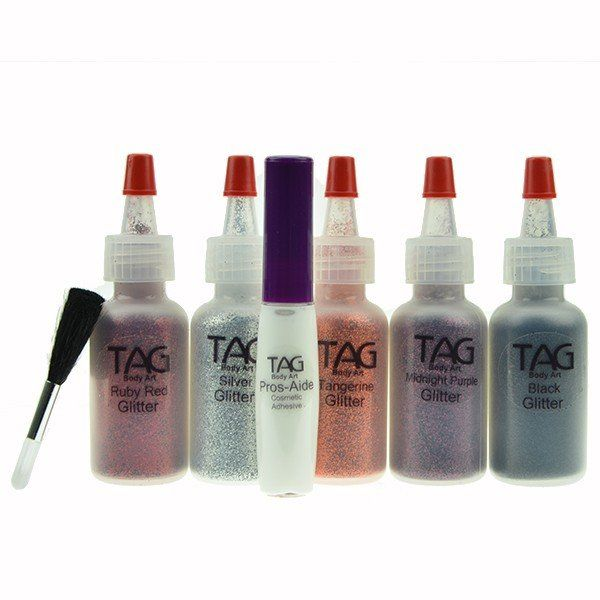 Tag Halloween Glitter Tattoo Kit