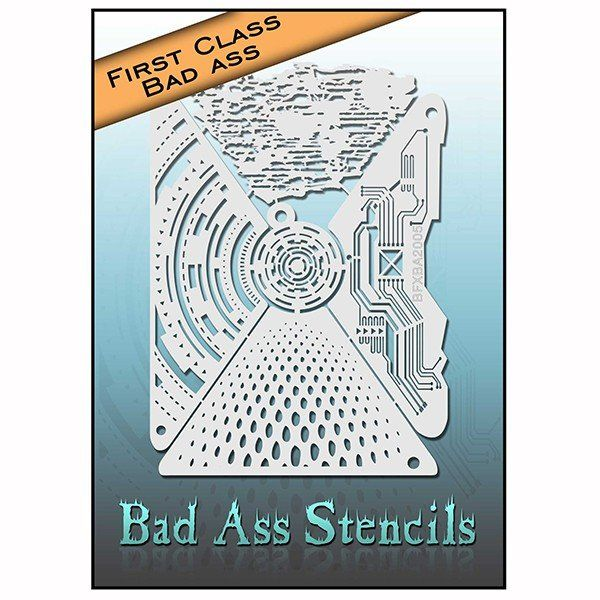 Bad Ass First Class Electronic Stencil