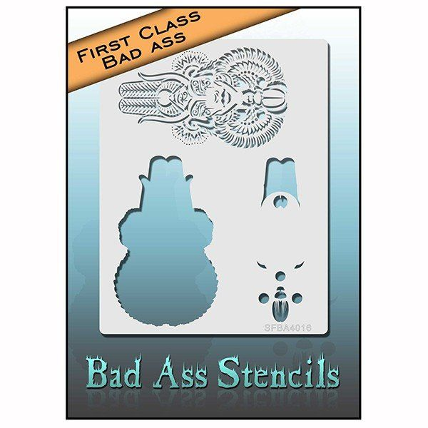 Bad Ass First Class Stencil (21356)