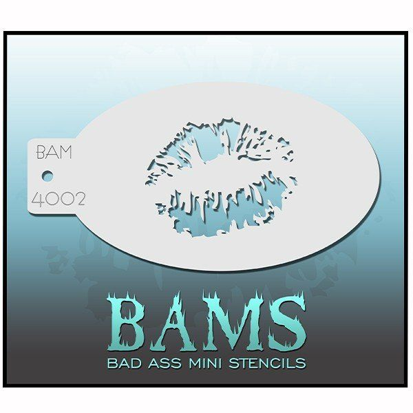 Bad Ass Bams Schmink Sjabloon 4002