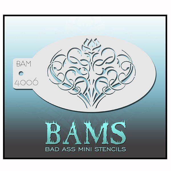 Bad Ass Bams Schmink Sjabloon 4006