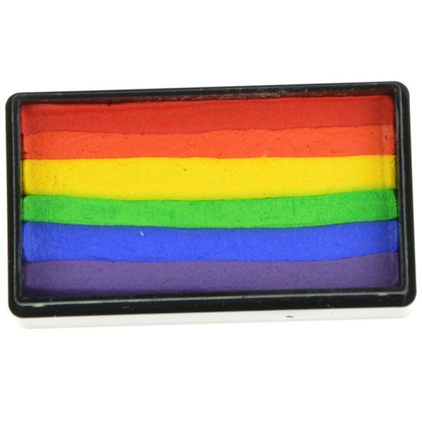 Arty Brush True  Rainbow  Cake