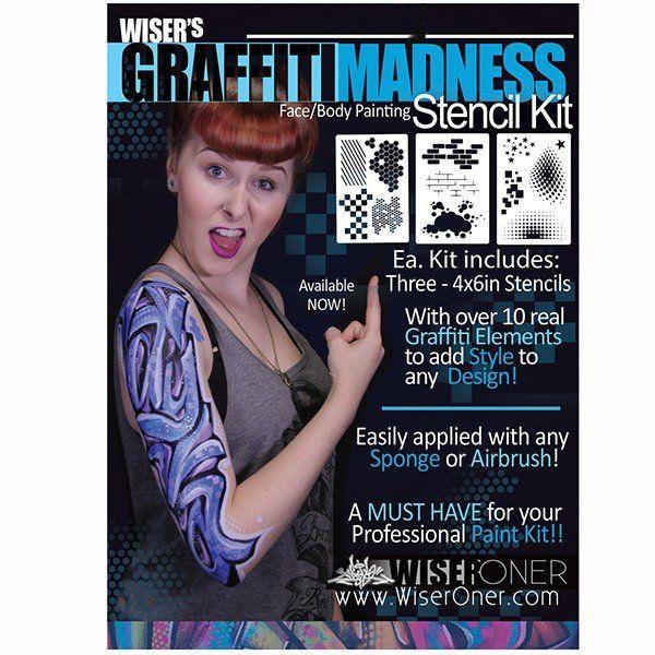 Wiser's Graffiti Madness Stencil Kit