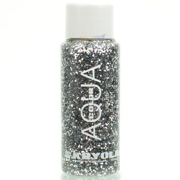 Kryolan Liquid Aquacolor Glitter Silver
