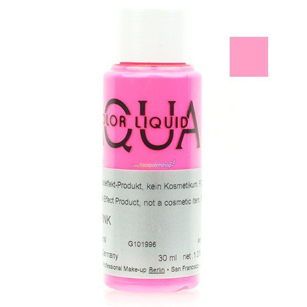 Kryolan Aquacolor Liquid Uv Color Pink