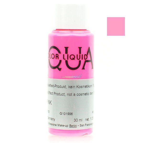 Kryolan Aquacolor Liquid Uv Color Pink