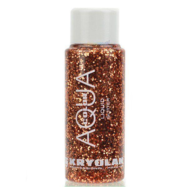 Kryolan Liquid Aquacolor Glitter Copper