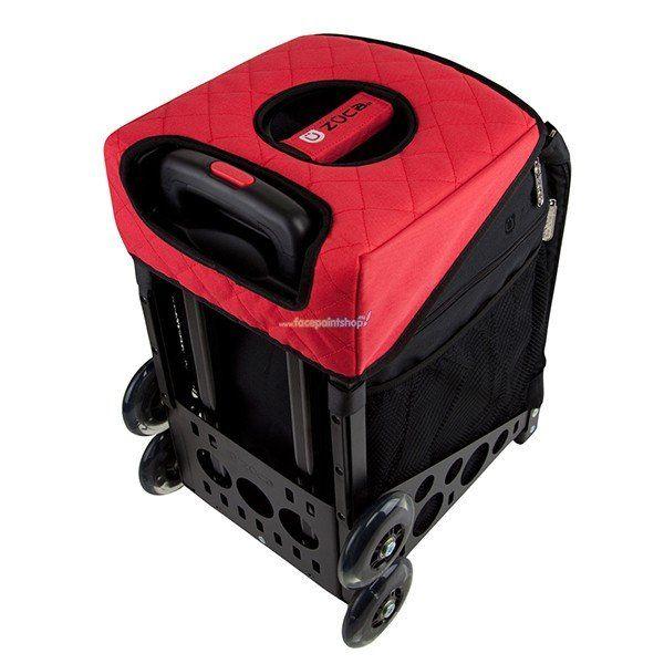 Zuca Seat Cushion Black/Red