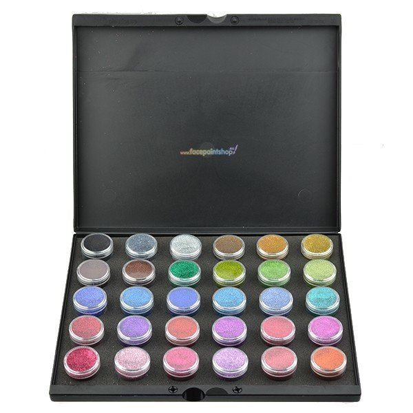 Glitter Palette met 30 kleuren