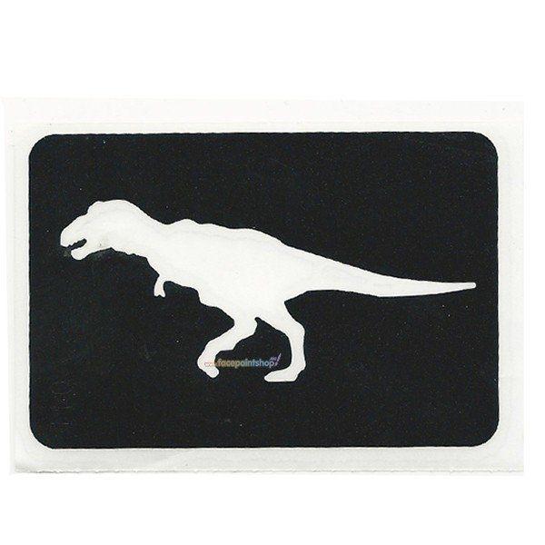 Glittertattoo Sjabloon Dinosaur T Rex (5 pack)