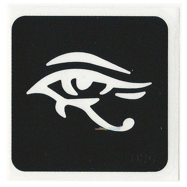 Glittertattoo Sjabloon Eye (5 pack)