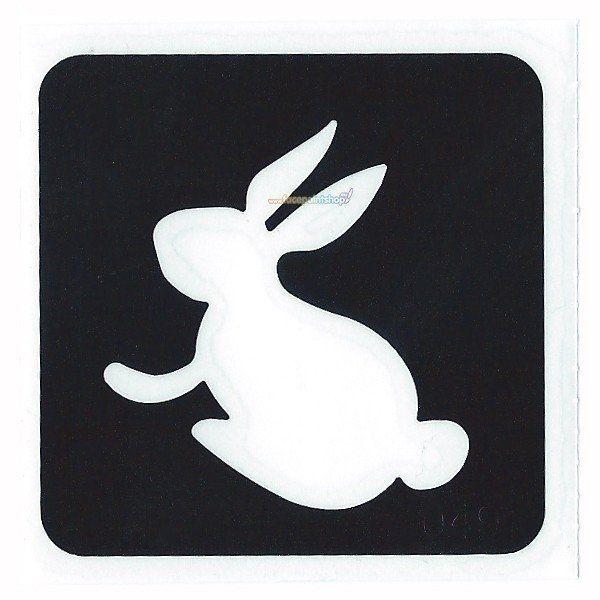 Glittertattoo Sjabloon Bunny Rabbit (5 pack)