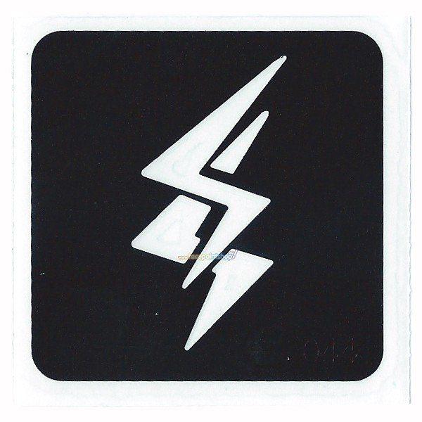 Glittertattoo Sjabloon Lightning ( 5 pack)
