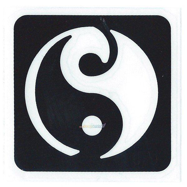 Glittertattoo Stencil Yin & Yang (5 pack)