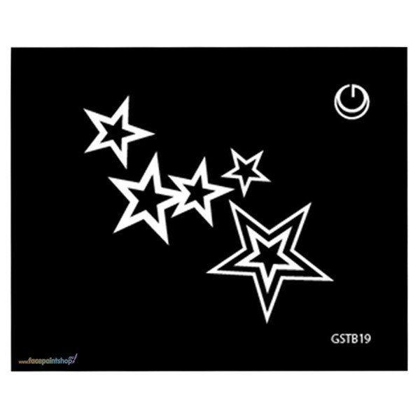 Stars Hd Stencil
