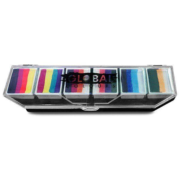 Global F.S. Palette Rainbow Splash