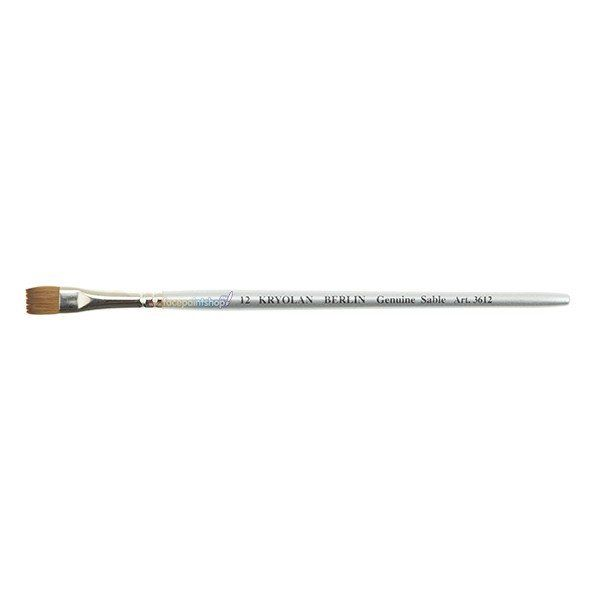 Kryolan Professional Flat Brush 3612 (12)