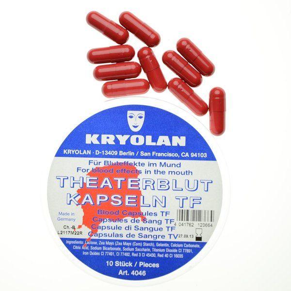 Kryolan Blood 10 Capsules