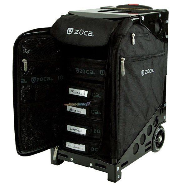 Zuca Pro Artist Black On Black Frame