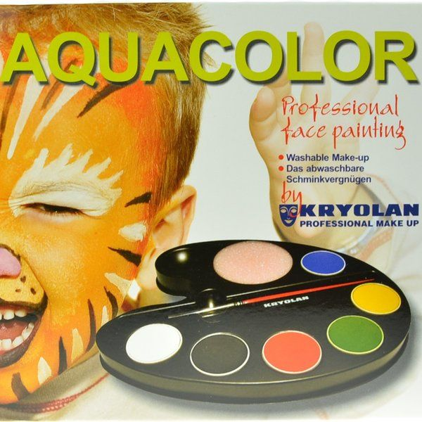 Kryolan Aquacolor Kit
