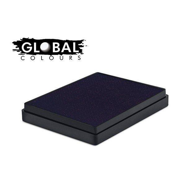 Global Aqua Schmink Dark Blue Square Container