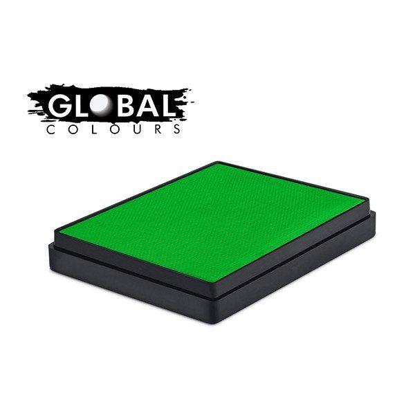 Global Aqua Schmink Neon Green Square Container