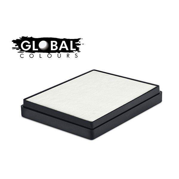 Global Aqua Schmink White Square Container