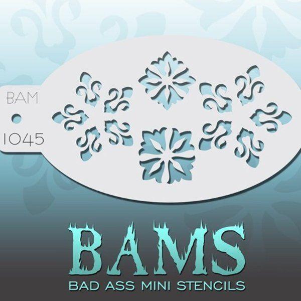Bad Ass Bams Schmink Sjabloon 1045