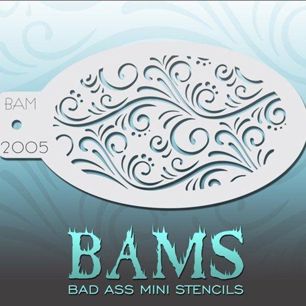 Bad Ass Bams Schmink Sjabloon 2005